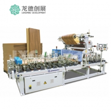 龙德创展-ECO-PRESS-PUR131门板覆膜机