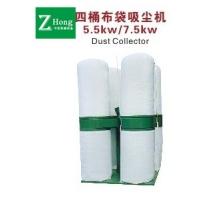 金华中宏木工机械-5.5kw四桶布袋吸尘器