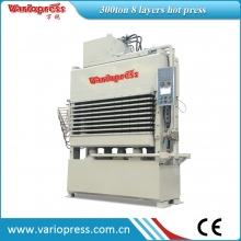 万锐机械-300吨8层热压机