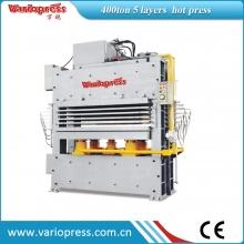 万锐机械-400吨5层热压机