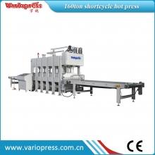万锐机械-PUR胶蜂窝板材短周期贴面生产线