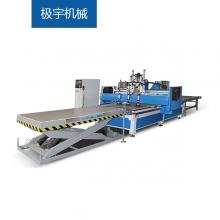 极宇机械-CNC5-数控开料排孔加工中心、数控<font style='color:red'>开料机</font>、板式家具生产线、定制家具设备