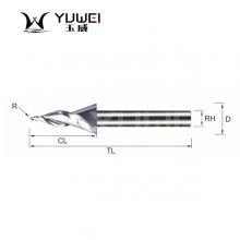 玉威刀具-2刃、3刃斜度刀(雕刻刀)