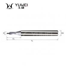 玉威刀具-超微粒整体硬质合金单刃铝用铣刀