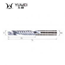 玉威刀具-超微粒整体硬质合金单刃铣刀