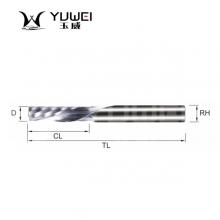 玉威刀具-单刃钨钢螺旋圆弧亚克力刀