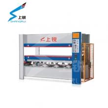 上锐机械-MH3848×100T热压机单层-热压拼板机