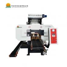 林粲机械-MJH450龙门卧式带锯 橡木拼板剖条带机