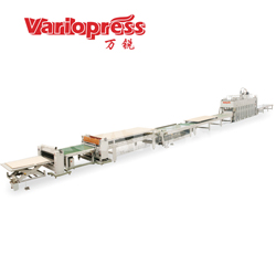 万锐机械-纸蜂窝贴面生产线