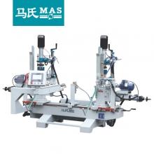 马氏机械-MZZ9312自动送料双端立卧式可调木工钻床
