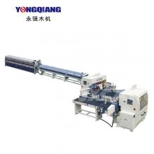 广东永强木机-FJL150-8A全自动连续式梳齿涂胶齿接生产线(电动式)