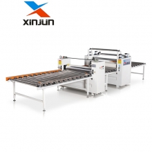 新俊数控XJ-A1300贴PVC,贴皮,贴面机
