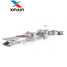 新俊数控-XJ-E1300贴面机生产线,贴纸机