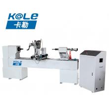 卡勒数控-单轴双刀车拉一体数控车床 KL-C1530