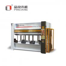 -品良木机-液压式五层热压机MH3848×160T×5