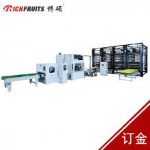 博硕*1300mm自动喷漆立体式干燥生产线
