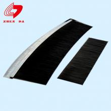 厂家定制铝合金毛刷条 楼梯条形刷工业毛刷条 HF型密封毛刷定做